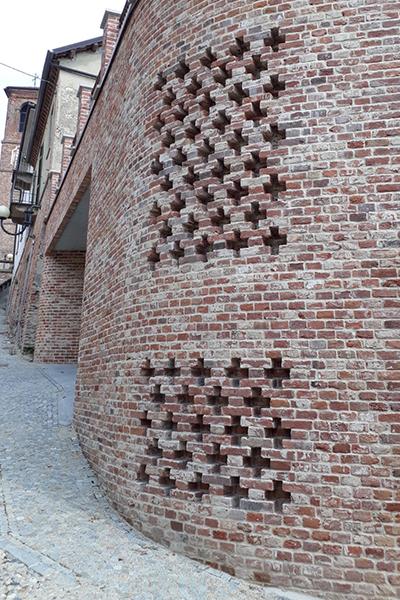 Grigliato in mattoni antichi